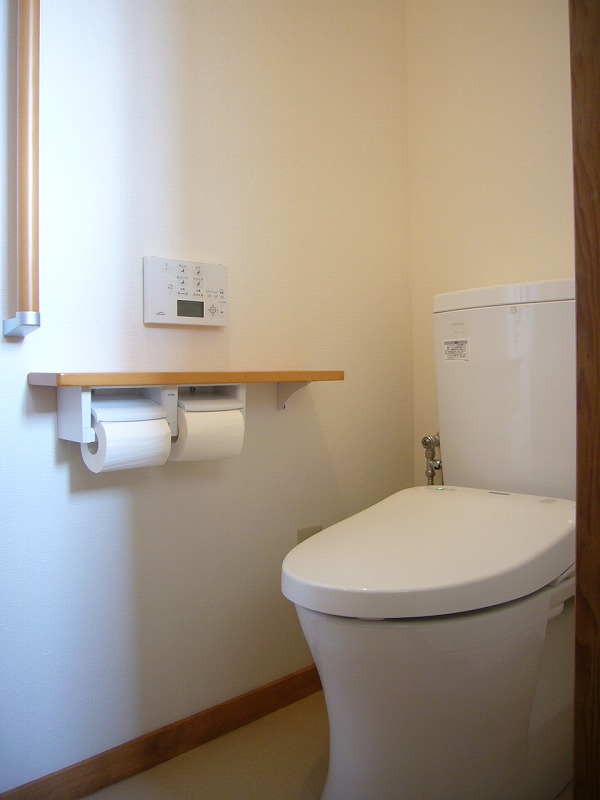 節水タイプのトイレに交換
