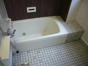 清潔感のある浴槽