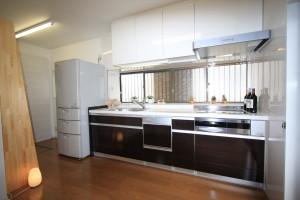 冷蔵庫~シンク~調理スペース~IHコンロの理想的な動線