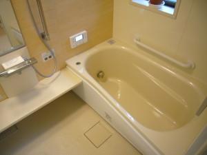 人造大理石タイプの浴槽