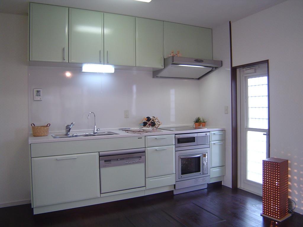 オープンスペースのキッチン