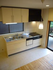 シンプルな幅2550 システムキッチン