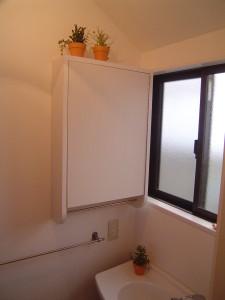 造り付けの洗面収納