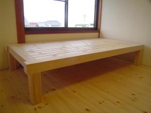 造り付けベッド