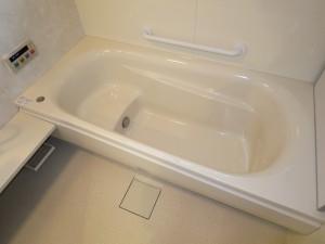 ゆったり入れる浴槽