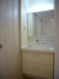 2階の洗面リフォーム