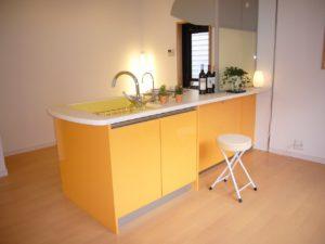 オープンタイプのキッチンリフォーム