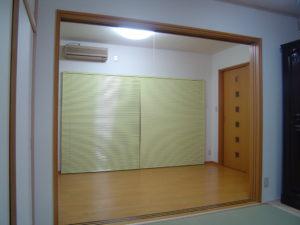 和洋室の2室を開けたところ