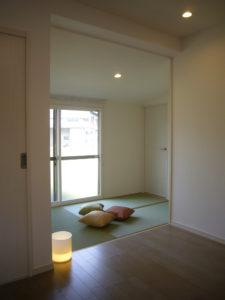 3帖のコンパクトな畳スペースにした減築リフォーム